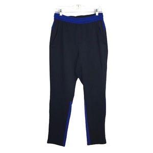 MSX by Michael Straman Blue Ankle Zip Pants